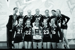 Womens Club Vball Champs B&W