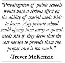 The Privatization Of Special Education >> The Problem With Privatization Of Education Special Needs