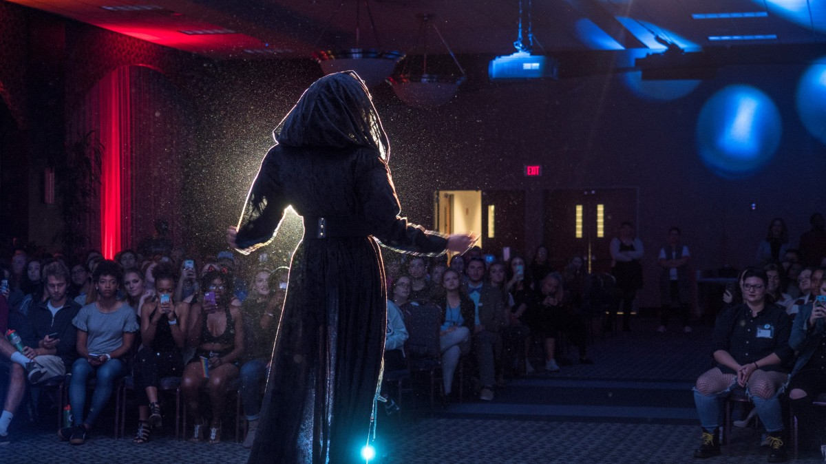 Alliance hosts inaugural 'Hallowqueen' drag show