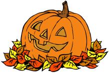 pumpkin-clipart-pumpkin_in_leaves