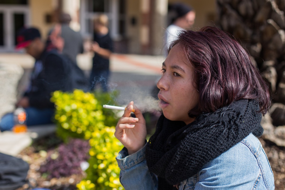 Why one smoker is happy ash trays are disappearing