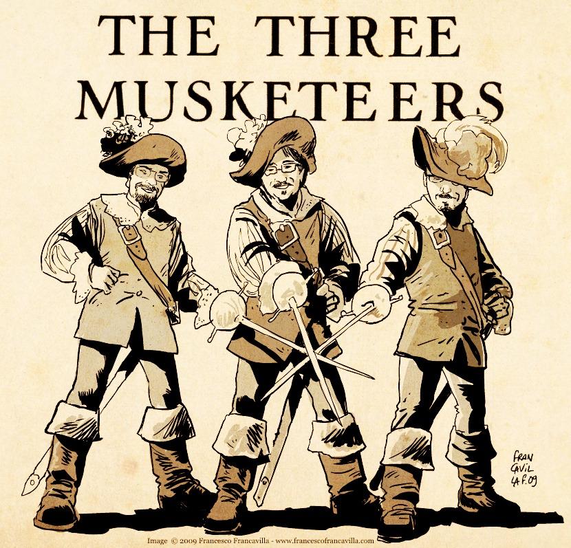Three Musketeers –9/12/2018