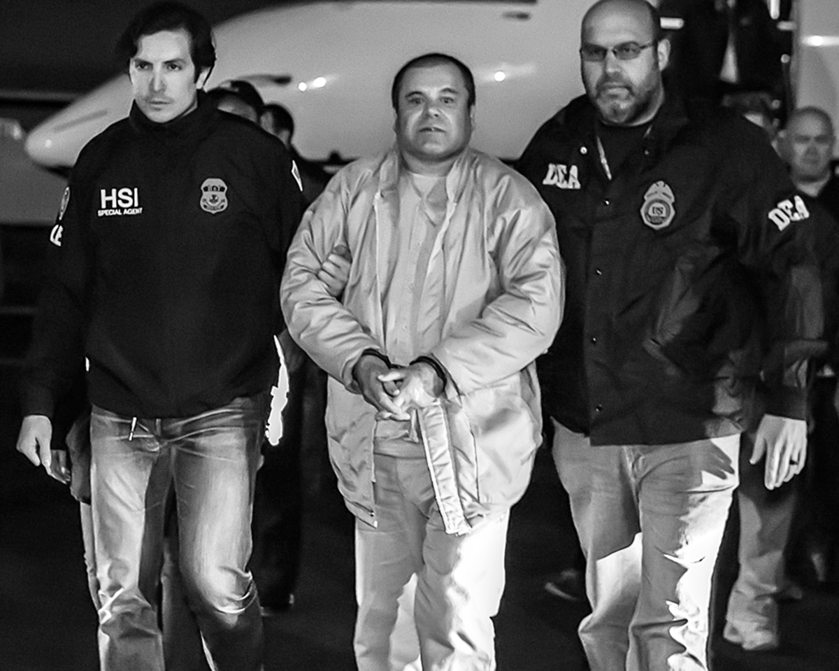 El Chapo convicted of 10 felonies