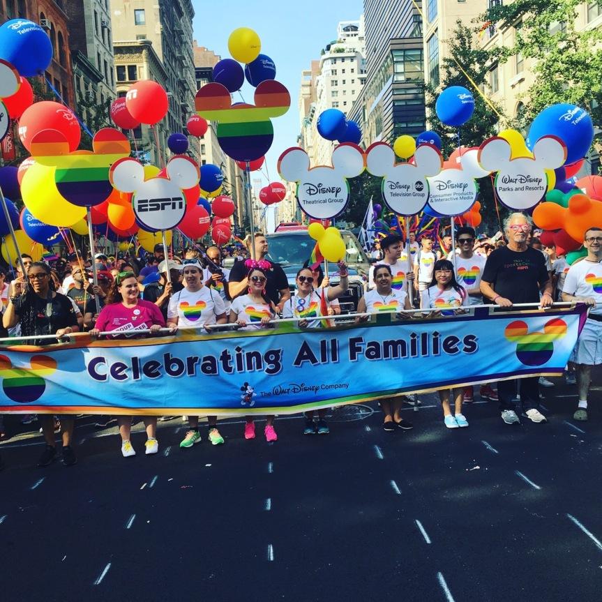 Disney announces first-ever LGBTQ prideparade